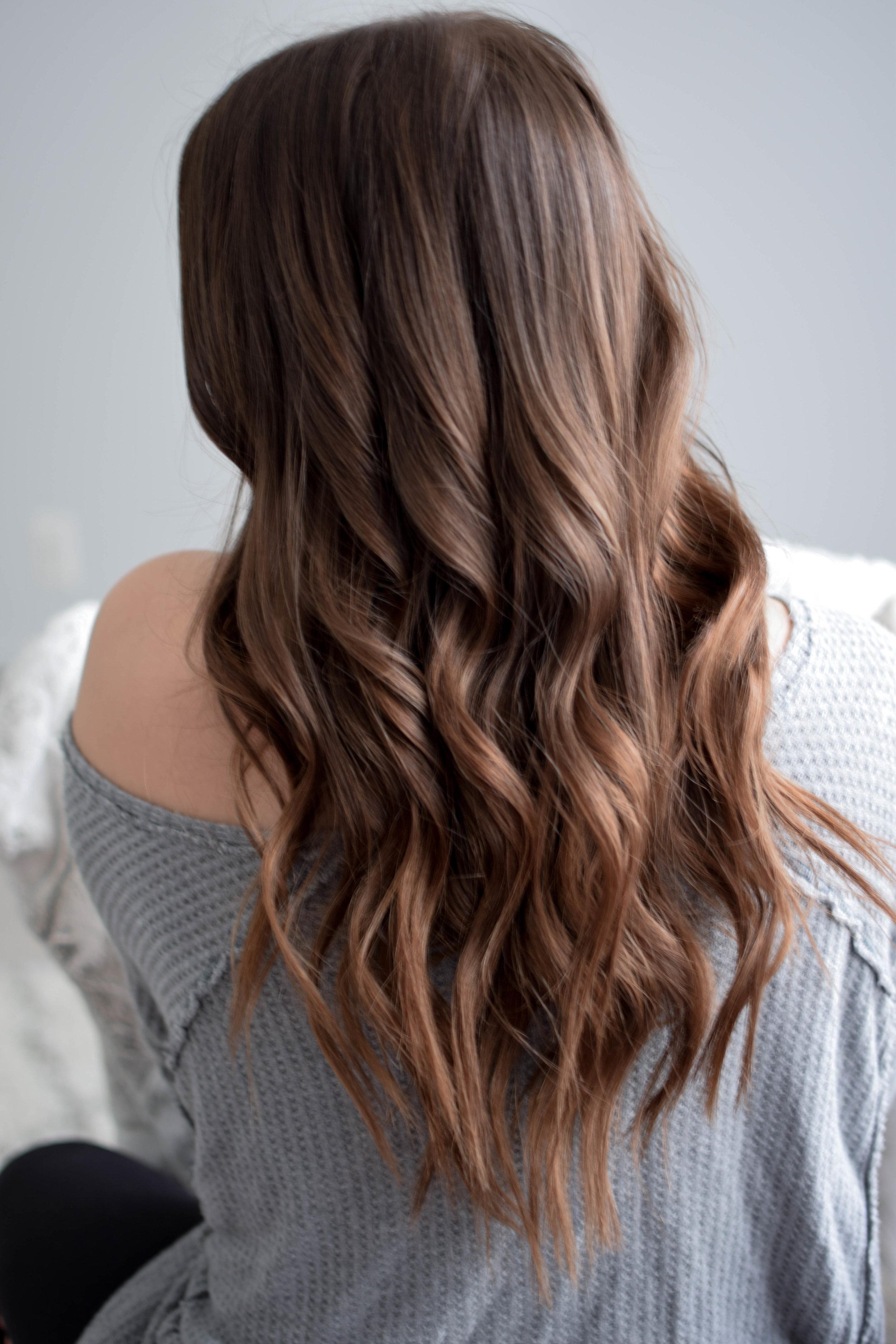 Every Day Waves Hair Tutorial Pine Barren Beauty Curls For Long Hair Loose Waves Hair Tutorial Loose Waves Hair