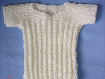 Beautiful Hand Knitted Baby Singlet Knitting And Crochet For