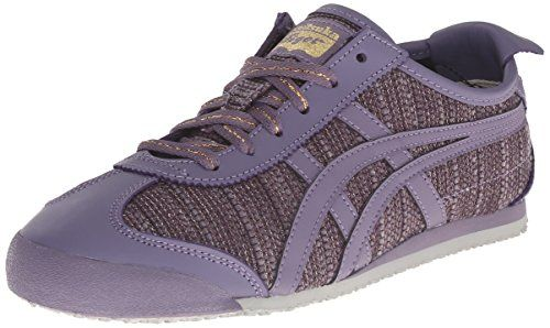 Onitsuka Tiger Women's Mexico 66 Classic Running Shoe, Aster Purple/Aster Purple, 5.5 M US Onitsuka Tiger