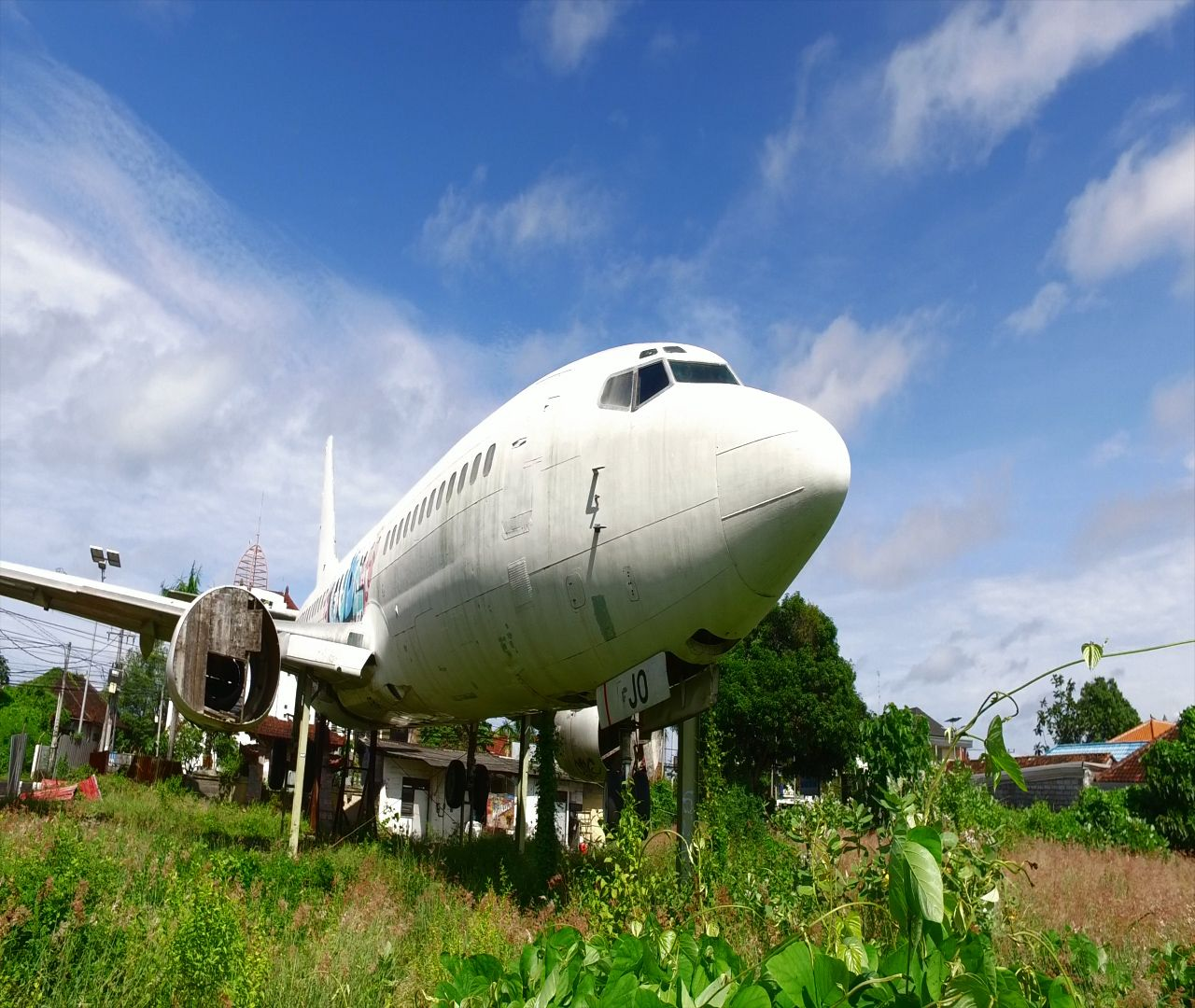 Abandoned Plane In Bali, Indonesia? The Last Thing You