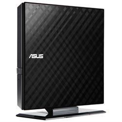 Asus SDRW-08D2S-U 8X Slim External Writer(Black), Retail