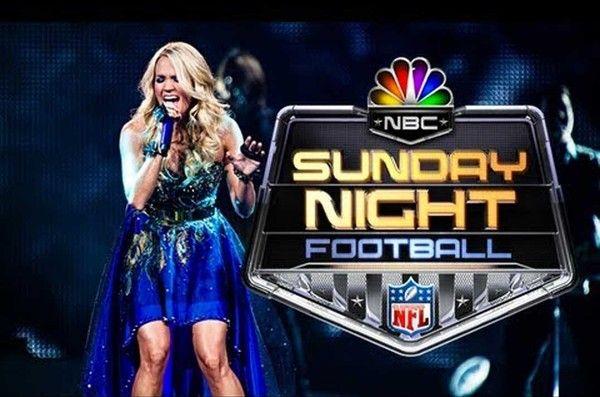 Carrie Underwood Wrote A New Sunday Night Football Theme Song With Images Sunday Night Football Carrie Underwood Sunday Night