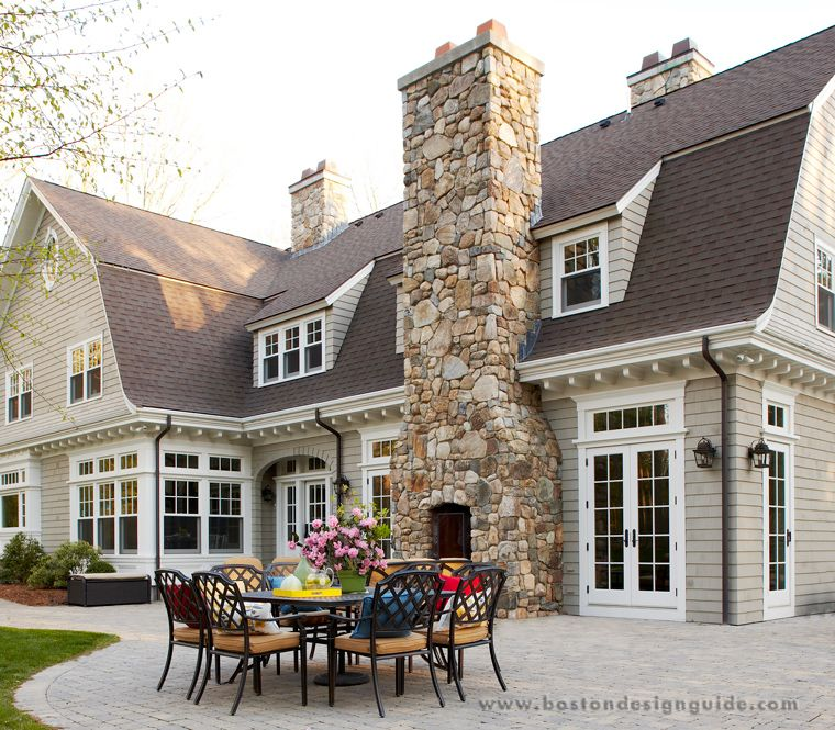 Oak Hill Architects Traditional And Contemporary Architecture And Interior Design Westo Dutch Colonial Homes House Exterior Exterior Paint Colors For House