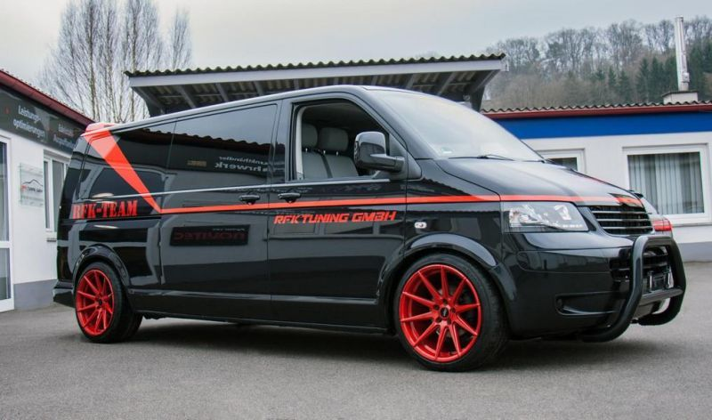 rfk tuning gmbh vw t5 bus a team gmc vandura auto style 4. Black Bedroom Furniture Sets. Home Design Ideas