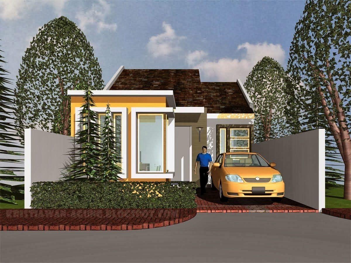Desain Tampak Depan Rumah Kontemporer Satu Lantai Rumah Kontemporer Desain Rumah Kontemporer Desain Rumah