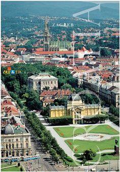 Zagreb Croatian Capital City Croatia Travel Zagreb Croatia Croatia