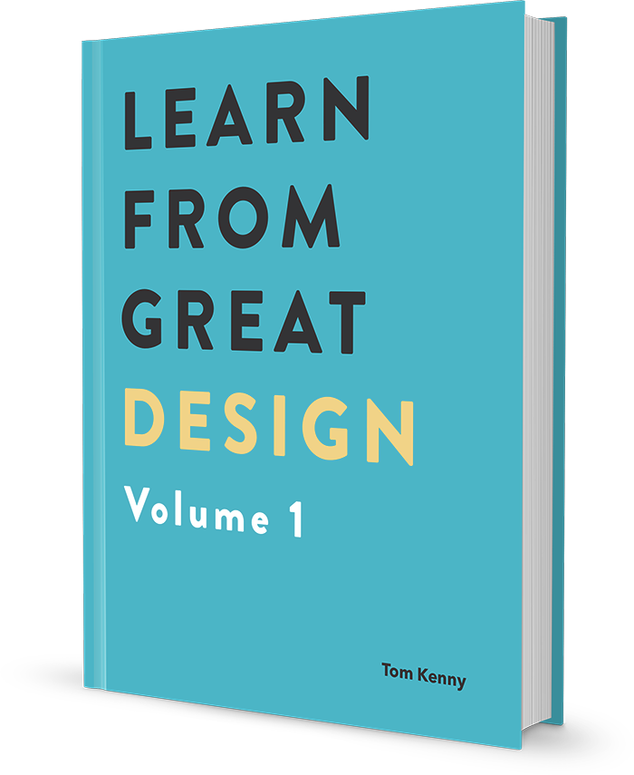 Learn from Great Design Volume 1 book cover
