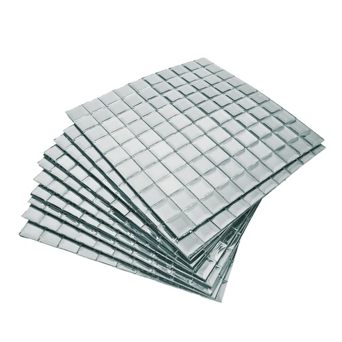 10 Pack 12 X12 Silver Peel And Stick Backsplash Mirror Wall Tiles 12x12 Backsplash Mirror Pack Peel Silver St In 2020 Mirror Wall Tiles Mirror Wall Wall Tiles