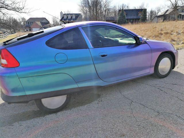Custom 2000 Honda Insight Great Car Tons Of Extras Extra Tires And Rims