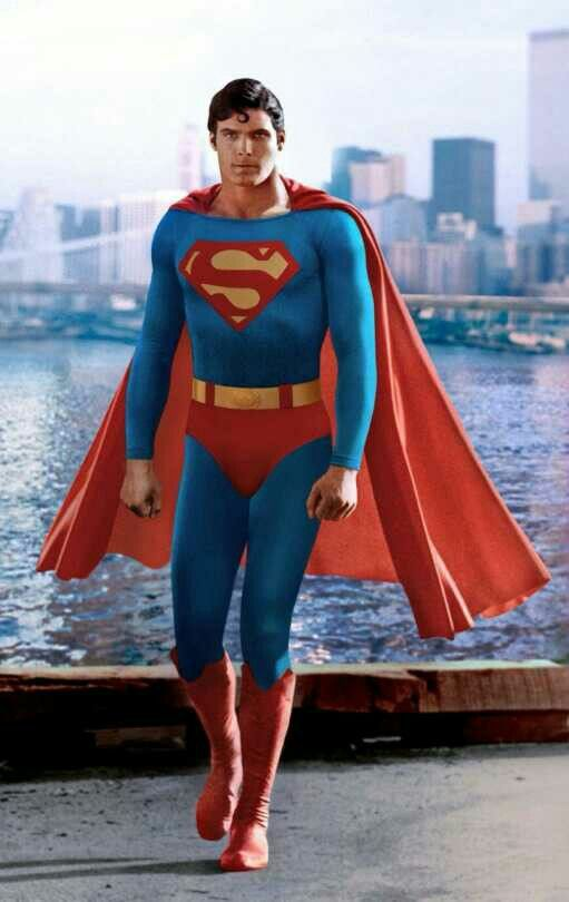 Christopher Reeve As Superman 1978 Superman Christopher Reeve Superman Superman Movies