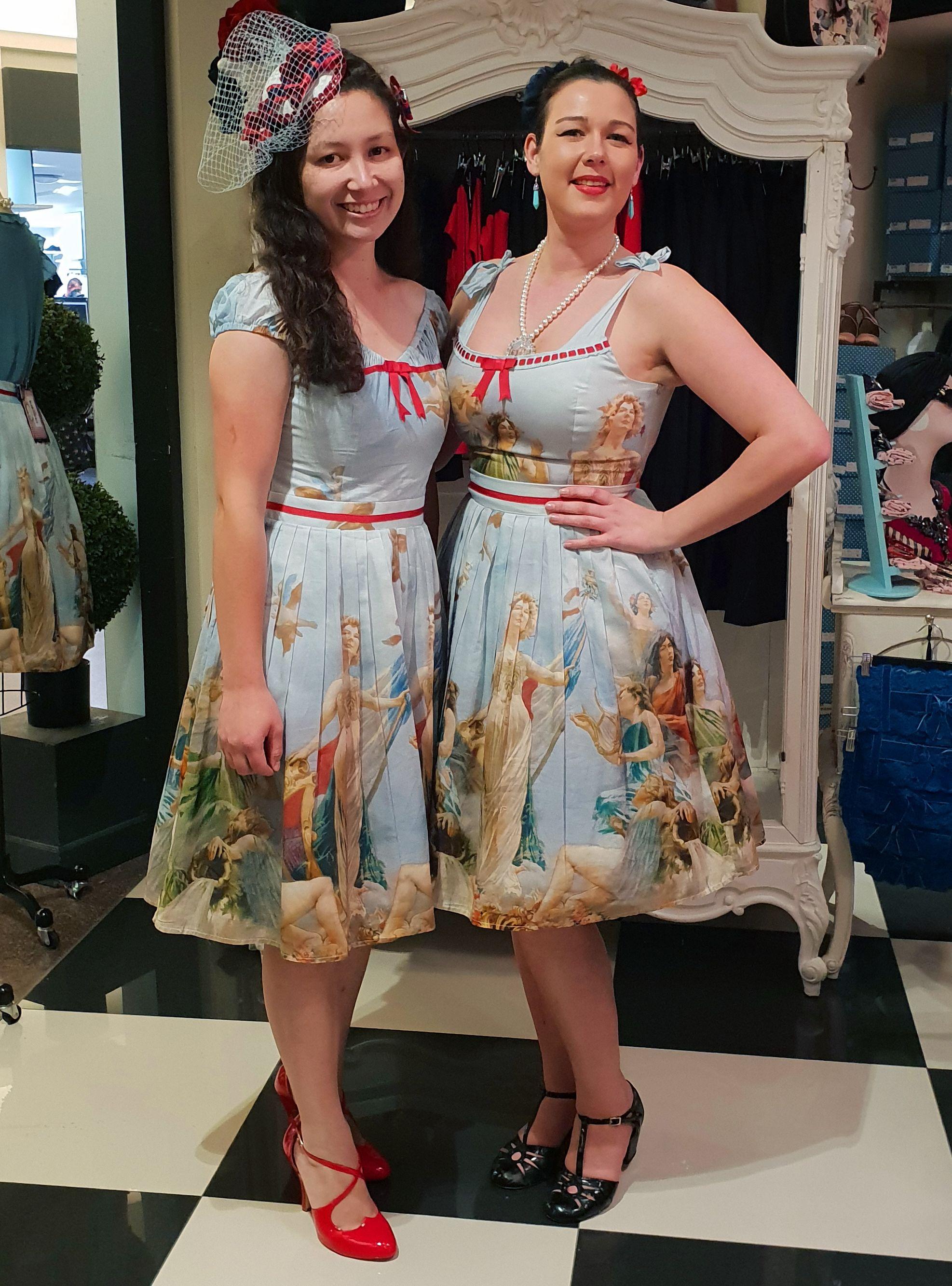 Vanessa And Ash Kitten In Liberte Beautiful People Summer Dresses Fashion