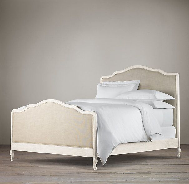 Restoration Hardware Master Bed California King Lorraine With Footboard 2095 2295 1465