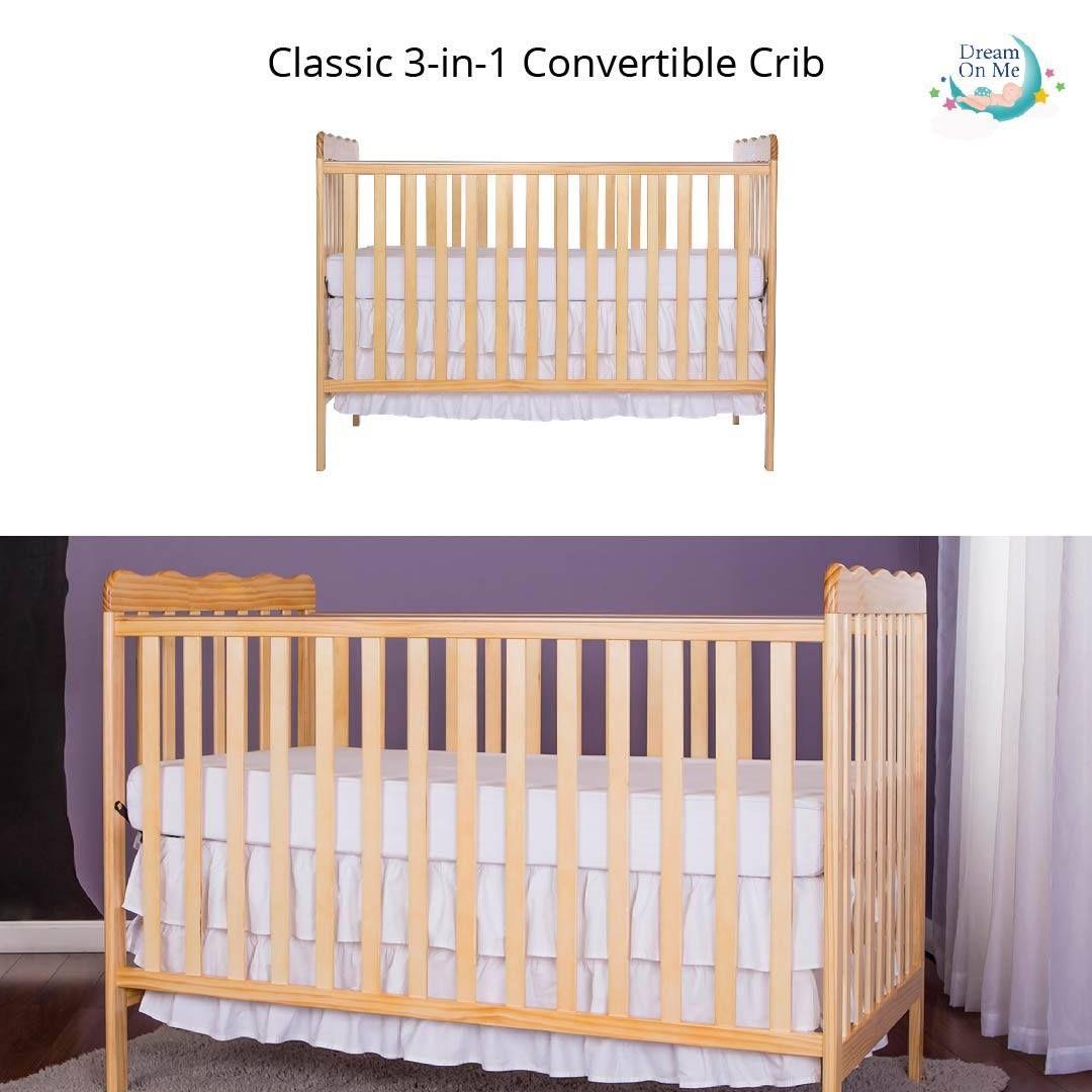 Classic 3 In 1 Convertible Crib Cribs Convertible Crib Convertible