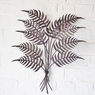 Decorative 3d Fern Metal Garden Wall Art 24 99