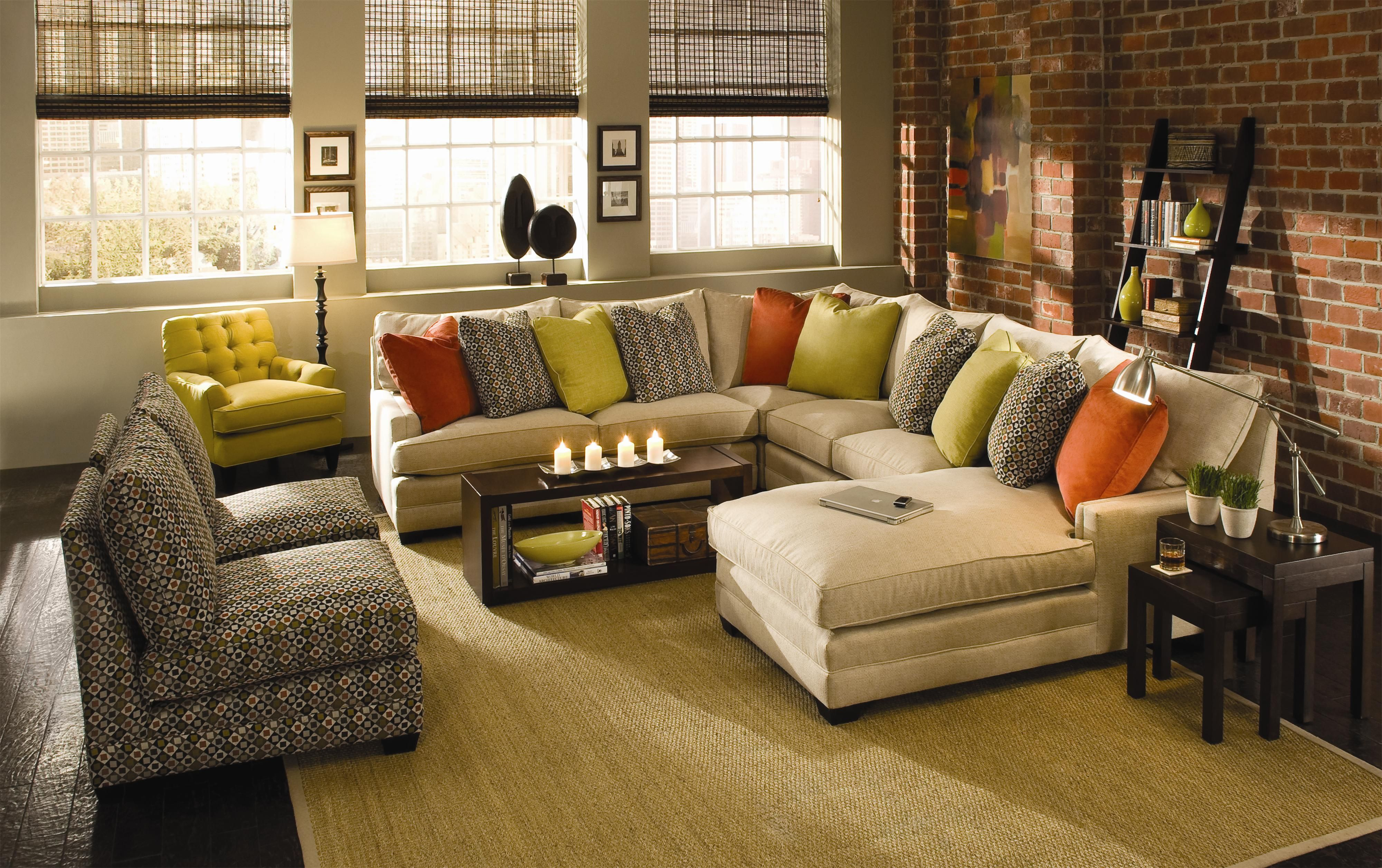 Sensational Margo Extra Wide Sectional Sofa By Sam Moore Knoxville Pdpeps Interior Chair Design Pdpepsorg