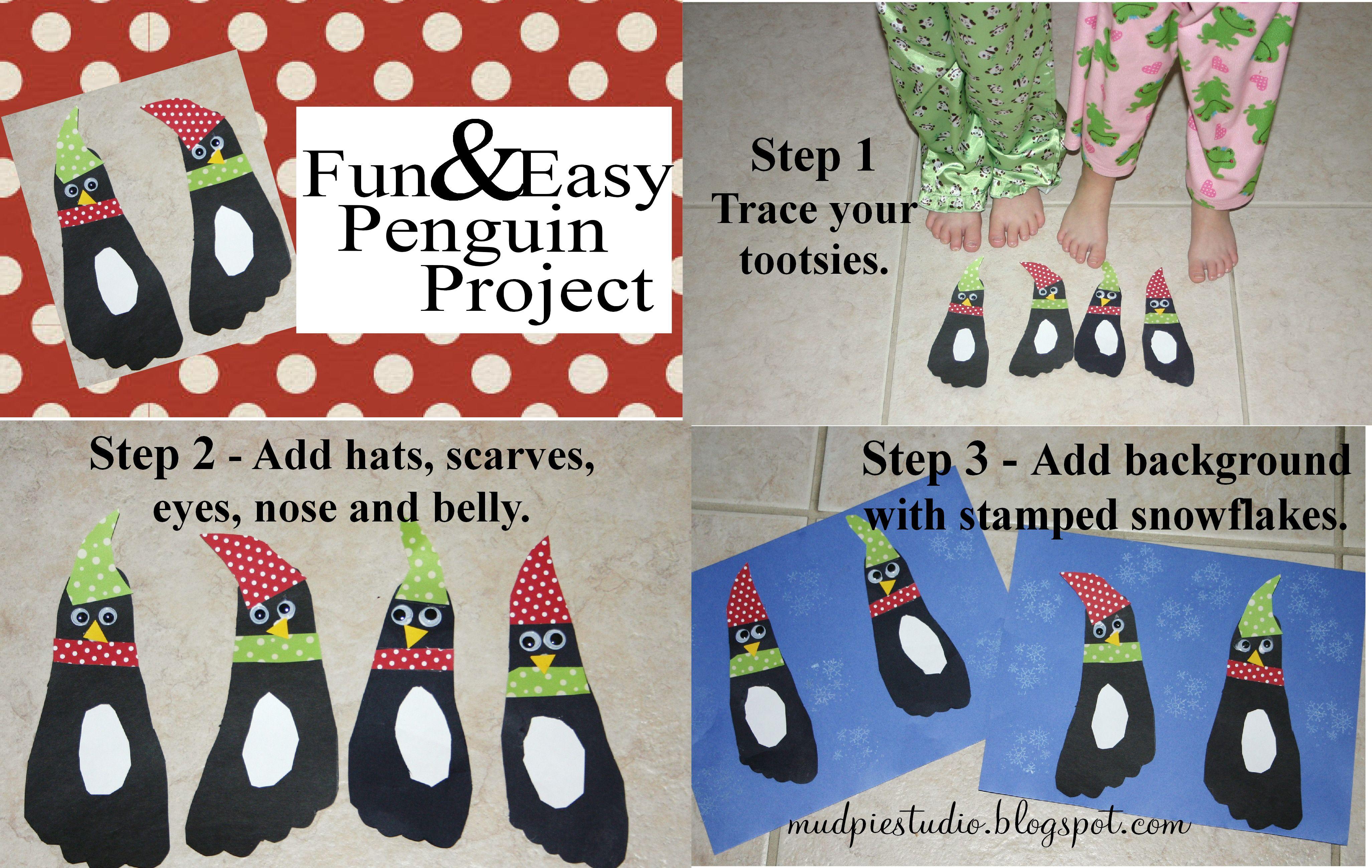 Penguin Craft W Feet Ha Ha Cute