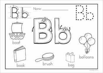 Alphabet Coloring Book and Posters | parvularia | Alphabet ...