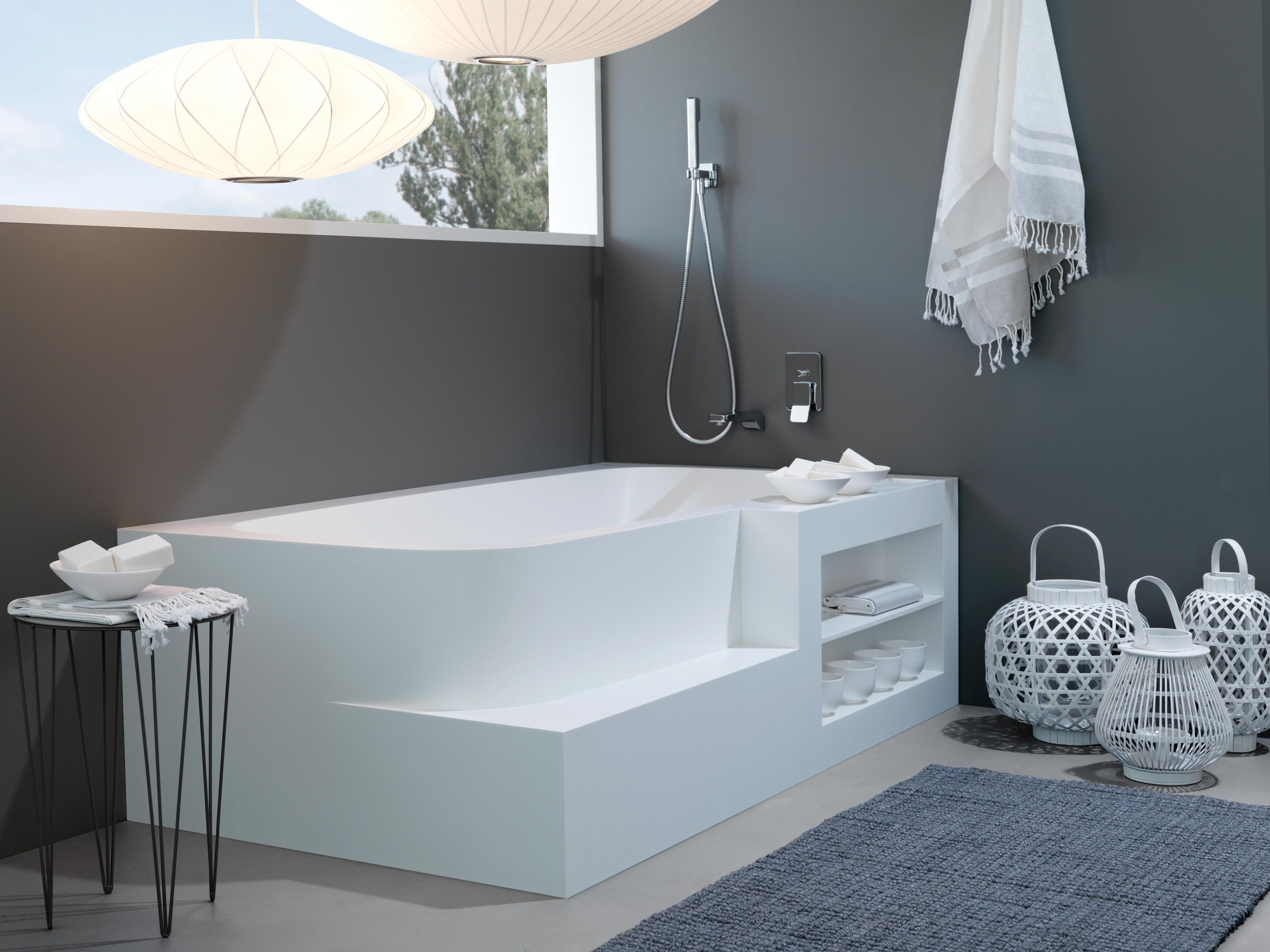 BADEWANNE AUS CORIAN Designer Bathtubs from talsee all