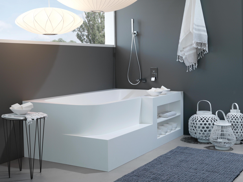 Badewanne Aus Corian Von Talsee Badewannen Rechteckig Badewanne Grosse Badezimmer Modernes Badezimmerdesign