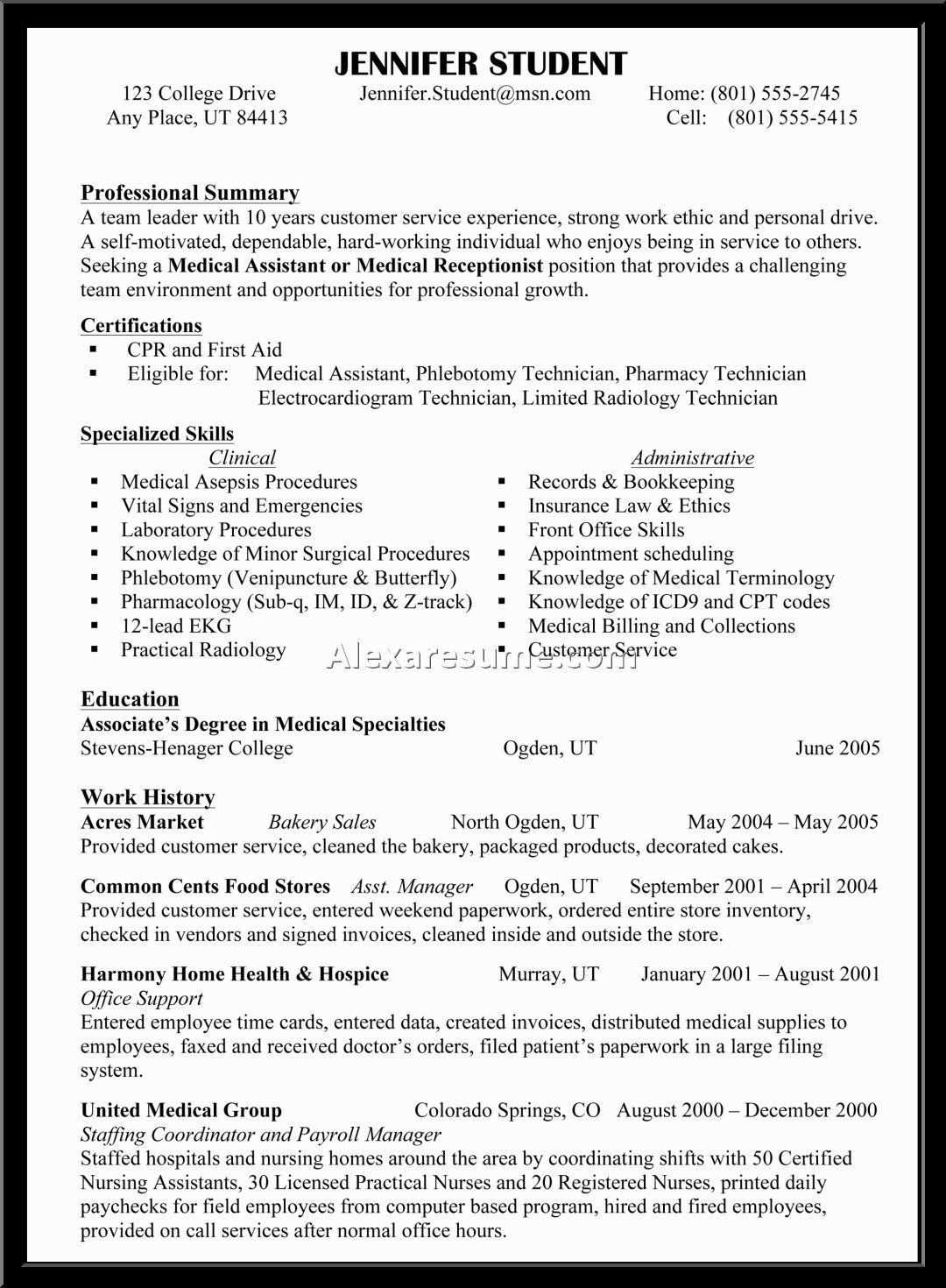 Skill Based Resume Example Free Skills Examples List For Leadership Template
