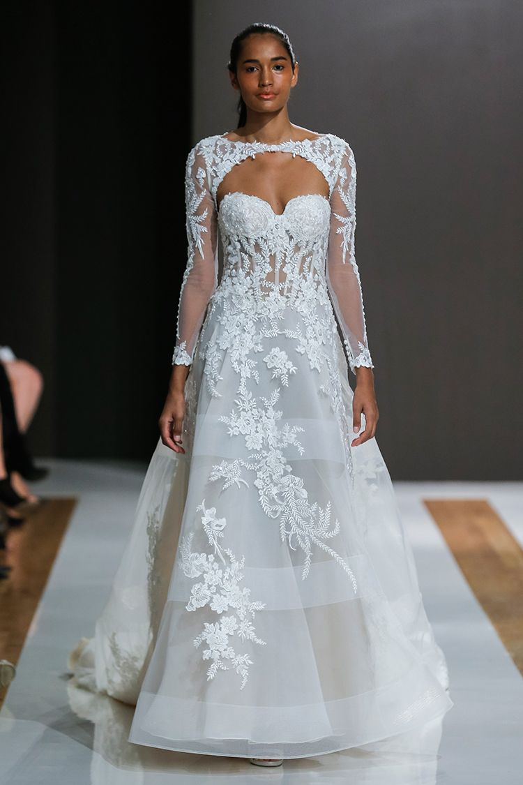 Mark Zunino Bridal Collection for Spring 2018 | Mark zunino, Bridal ...