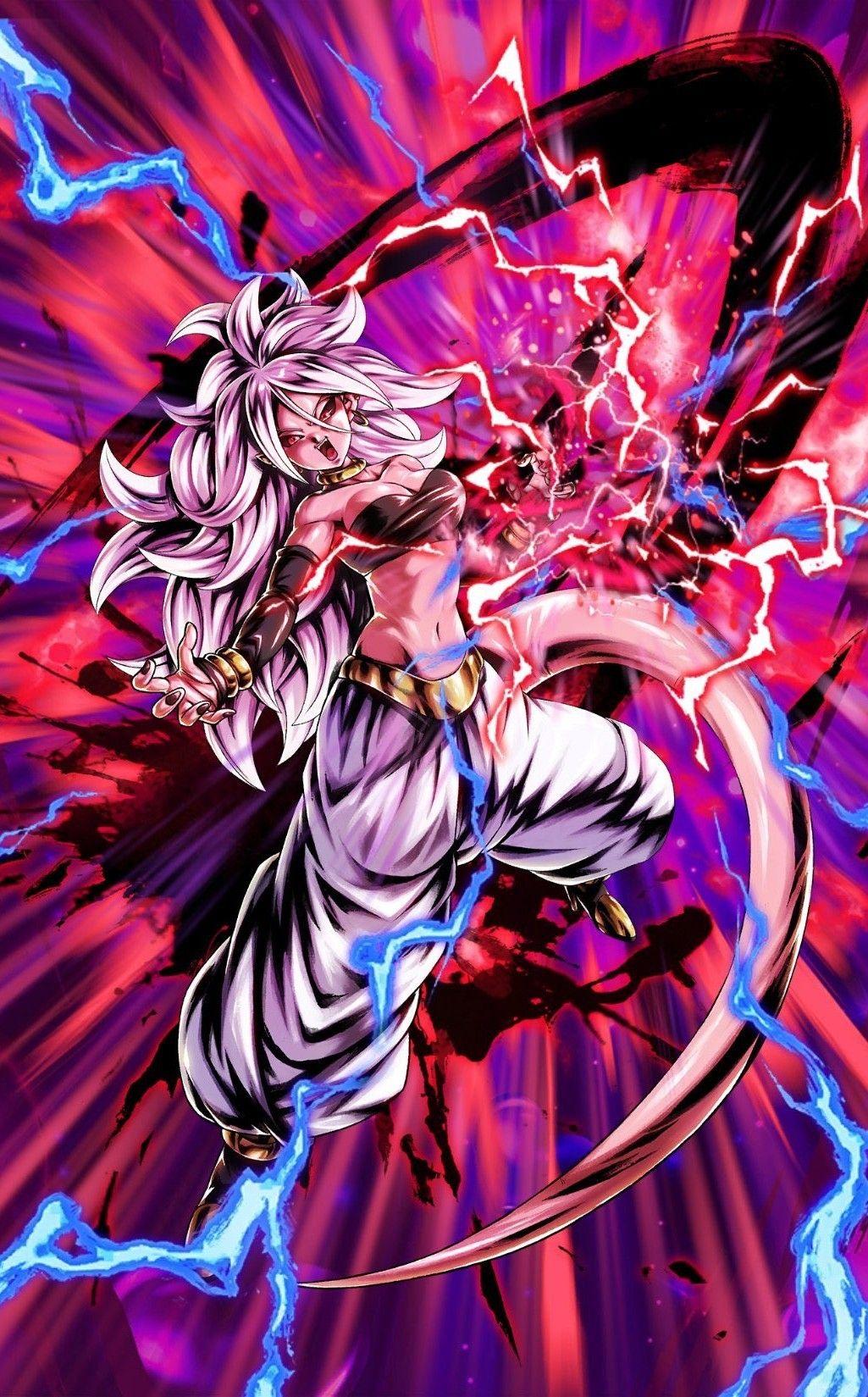 Majin Android 21 Dragon Ball Legends (DBFighterZ Crossover ...