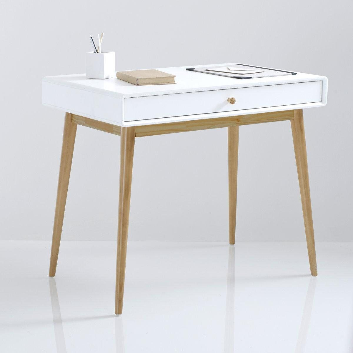 Bureau 1 Tiroir Jimi B北欧 Desk Furniture Desk With Drawers