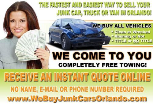 Cash For Junk Cars Online Quote The Fastest And Easiest Way To Sell Your Junk Car Truck Or Van In