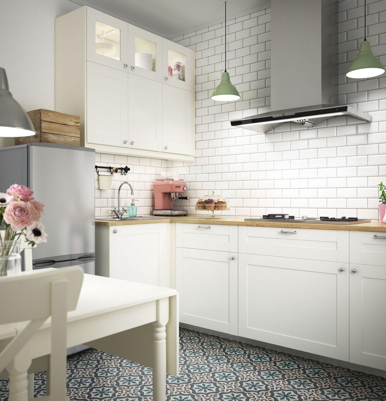 Savedal, cuisine aux notes pastel d\'IKEA | Déco village | Pinterest