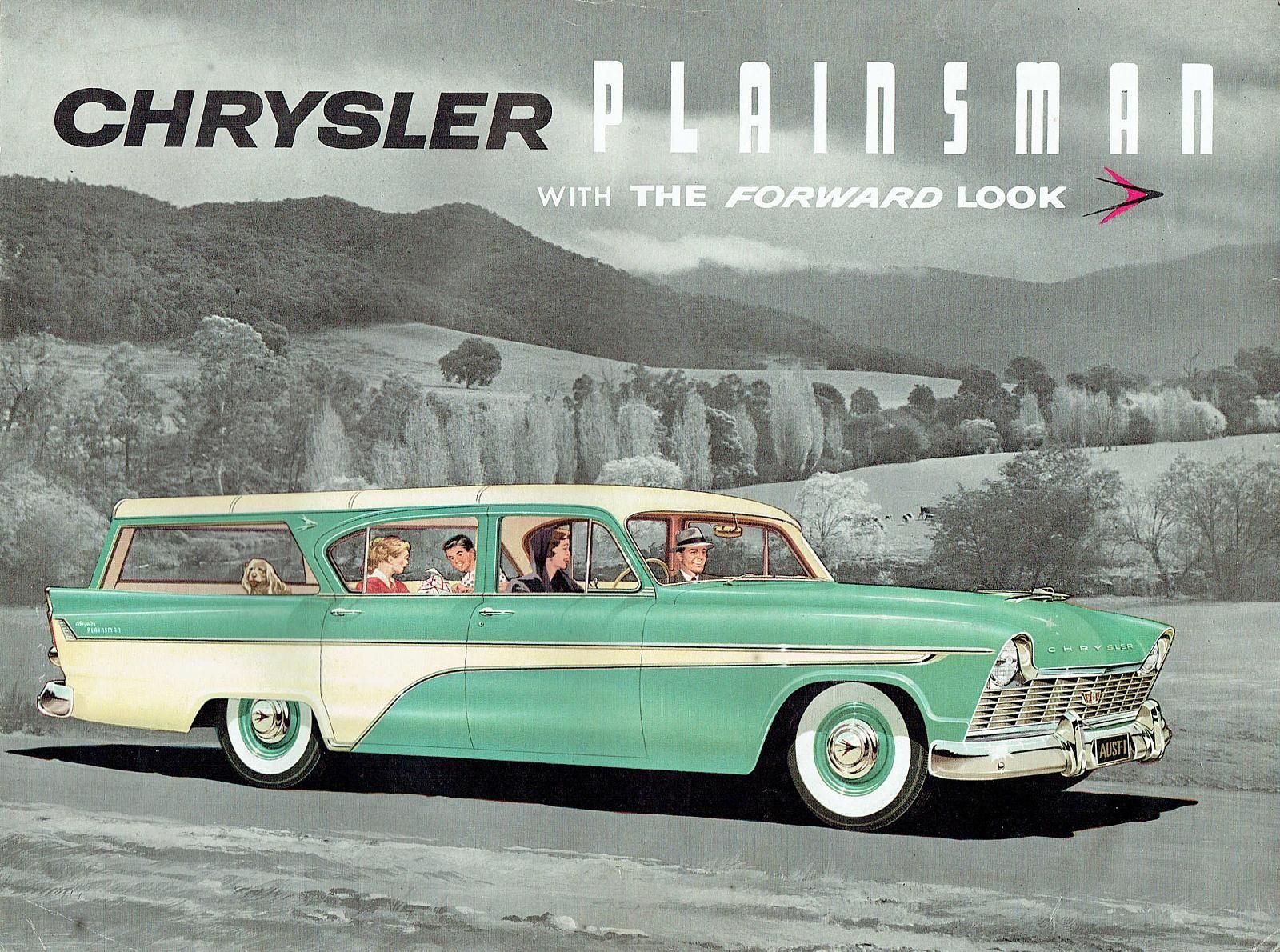 1956 ford customline wagon old car hunt - 1958 Chrysler Ap1 Plainsman Wagon The Ap1 Chrysler Royal Was Released In 1957 But