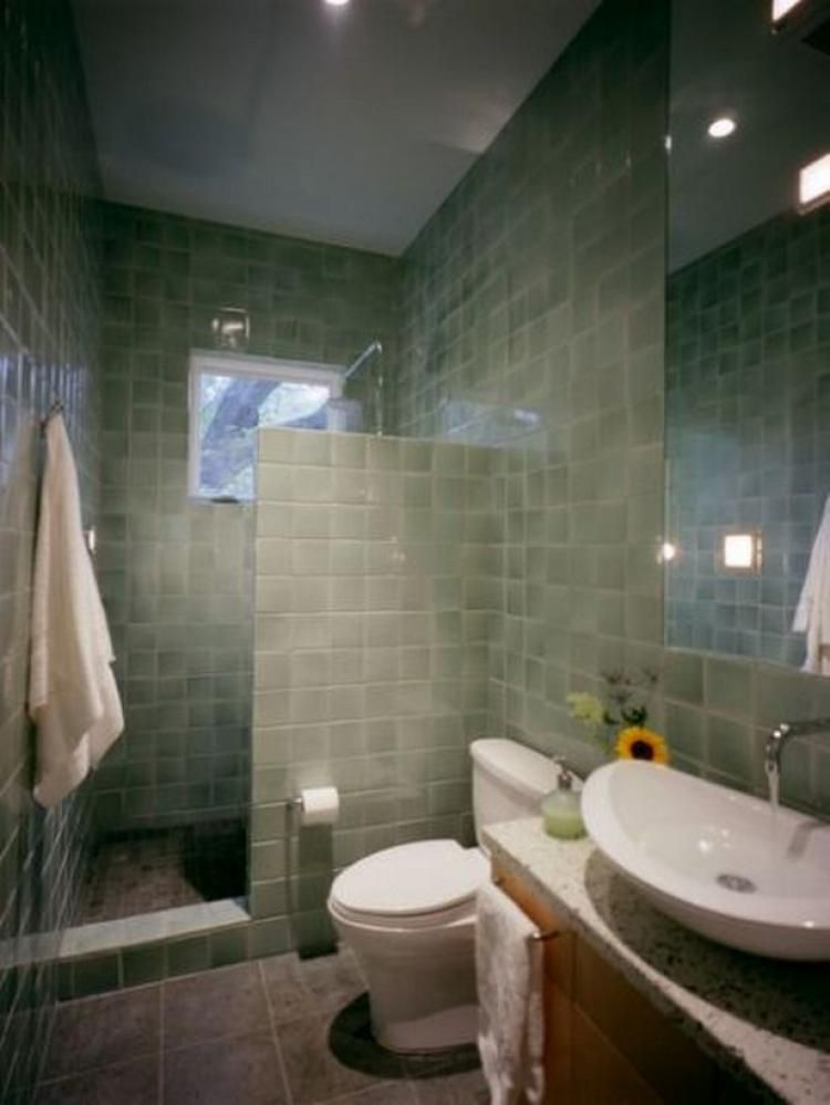 48 Modern Doorless Shower Designs Ideas Bathroomdecor