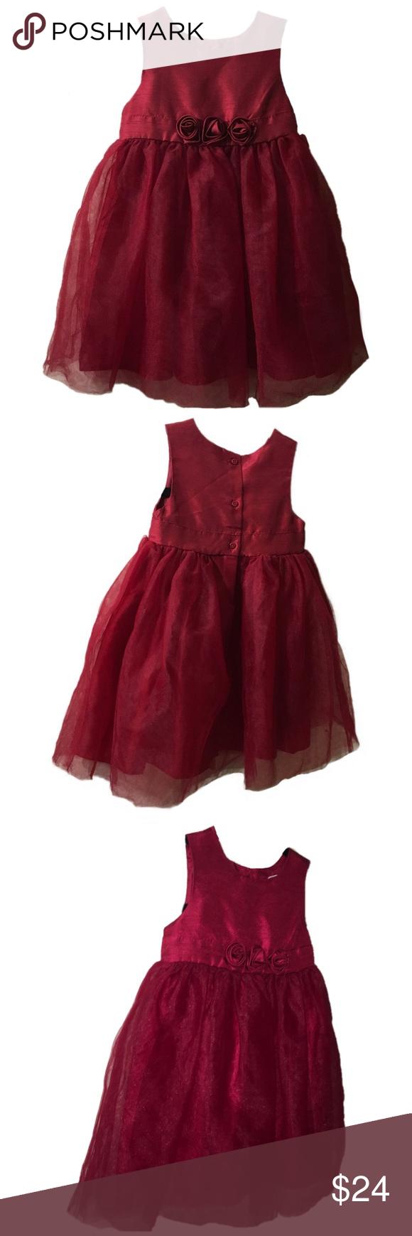 38f8a2b84 Gymboree Baby Girls Red Christmas Dress 18-24m Beautiful Holiday dress by  Gymboree! Classic