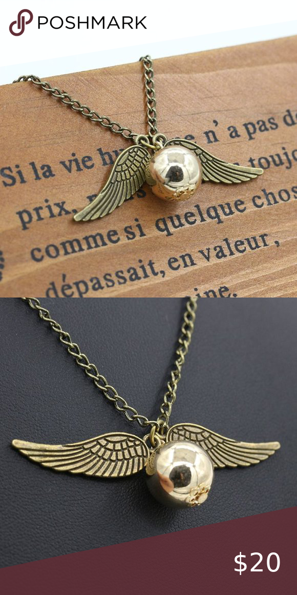 33++ Harry potter golden snitch jewelry information