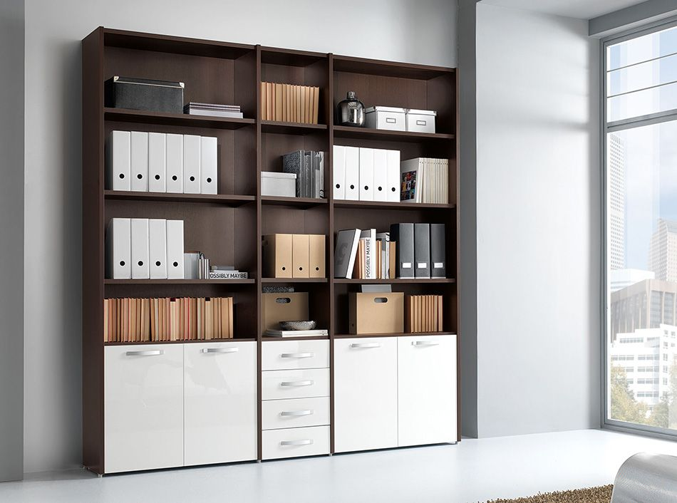 Italian Office Library Unit Vv Le5074 Office Storage Furniture Office Furniture Modern Office Furniture Collections
