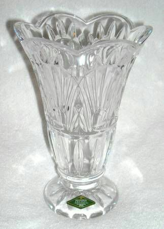 Irish Shannon Crystal Vase Designs Of Ireland Handcut Lead Crystal