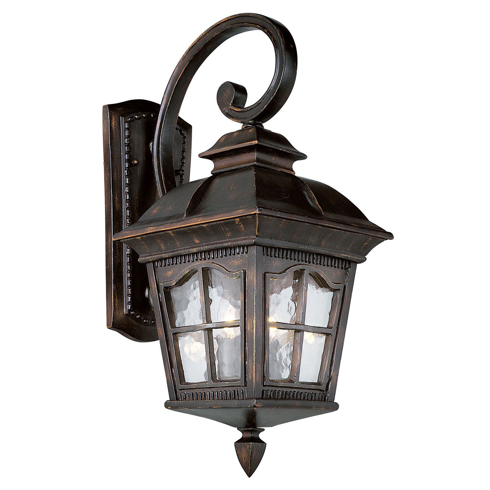 Bel air ellston outdoor wall light h in bk products