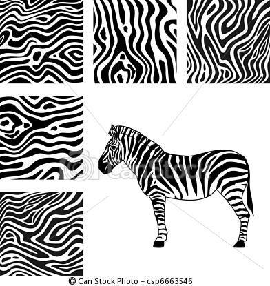 Zebra Pattern Vector Clip Art Eps Images 1 066 Zebra Pattern Clipart Vector Illustrations Available To Search From Thousand Zebra Art Zebra Fauna Illustration