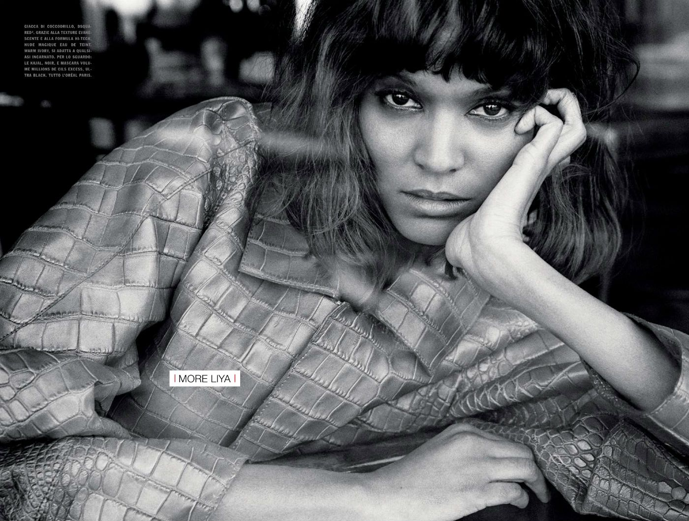 Liya Kebede | Photography by Yelena Yemchuk | For Vogue Magazine Italy | January 2014