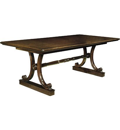 Hc Library Dining Table Conceived For Use As Either An Elegant