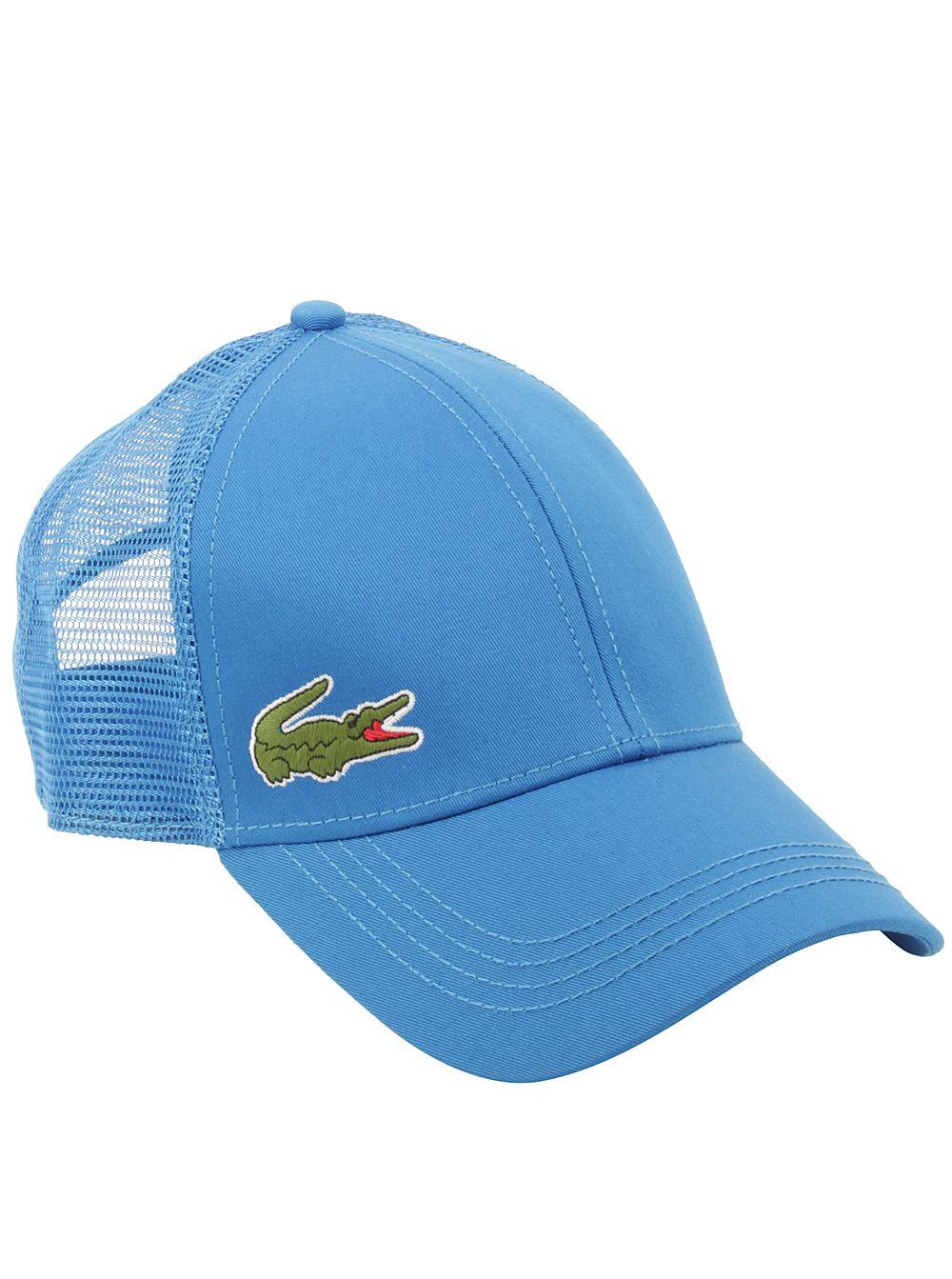 fbf08fe12 Lacoste® Men s Trucker Hat in Nattier Blue
