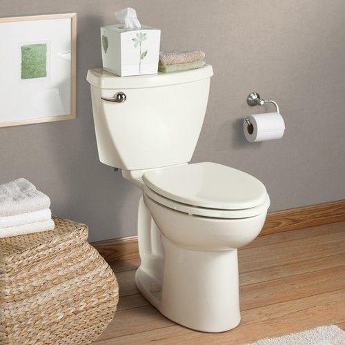 American Standard Cadet 3 Right Height Elongated Toilet 10 Rough New Toilet Toilet Diy Bathroom