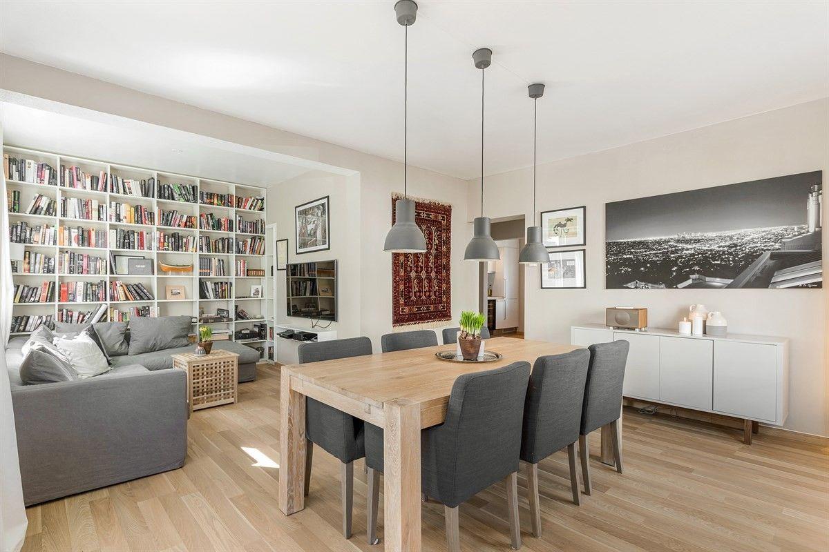 FINN – TORSHOV - Lys og romslig 2(3)-roms leilighet med høy standard, 2 balkonger og attraktiv beliggenhet. Oppusset i 2015/2016. V.vann & fyring inkl. i felleskostnader