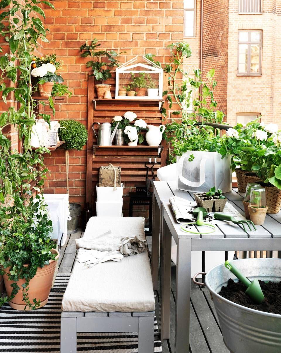 GR˜NT ER SKJ˜NT N¥ skal on terrasser og balkonger bugne av gr¸nt