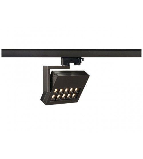 3 Fase Rail LED Spot Zwart 22 Watt 38Graden dimbaar | Rail ...