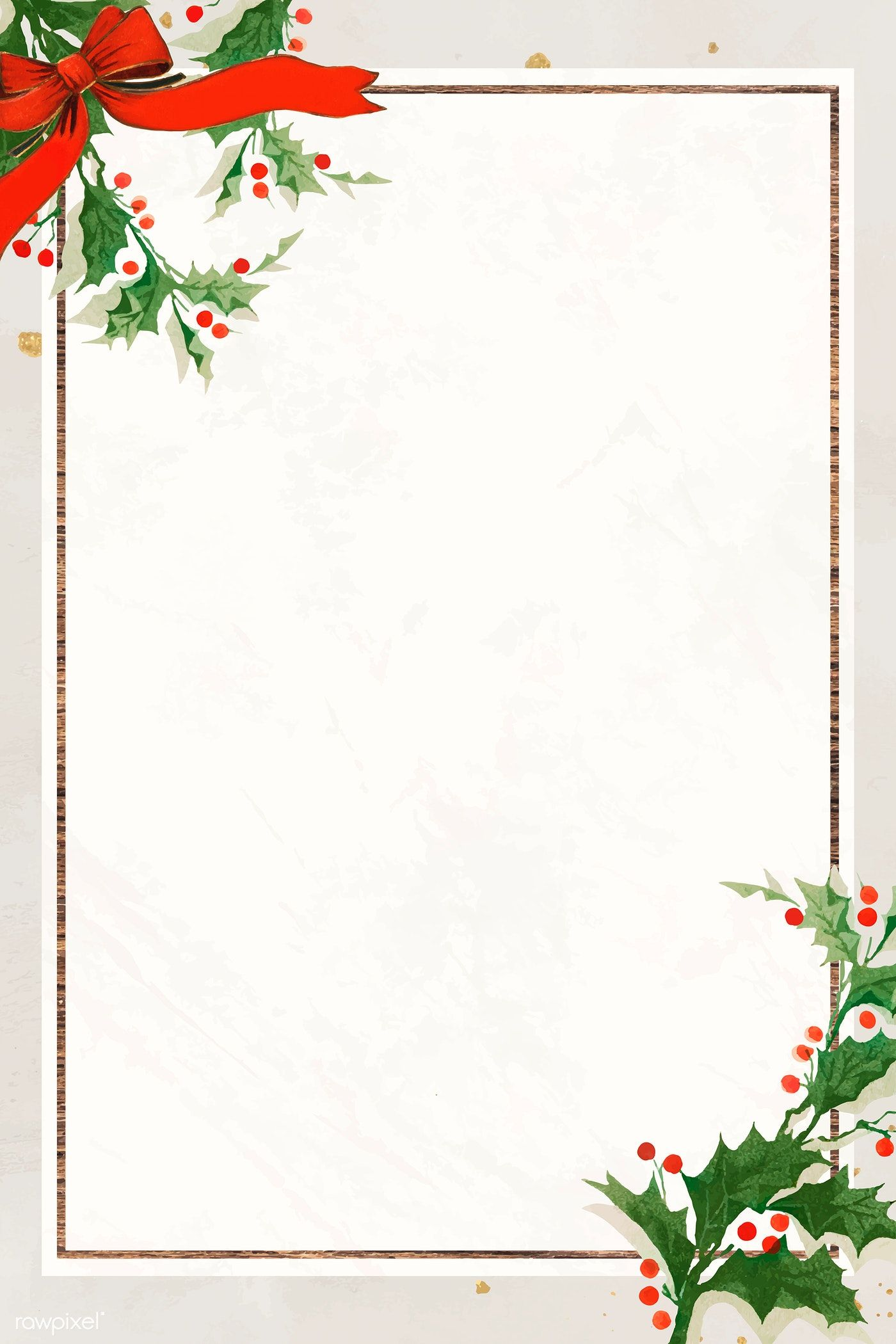 Download premium vector of Blank festive rectangular