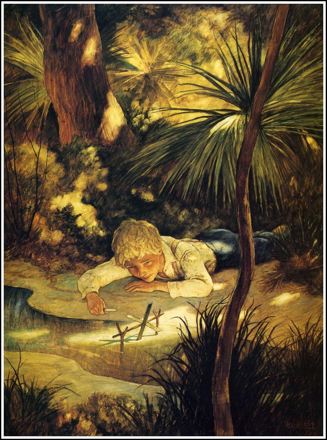 Wyeth Yearling Illustration Jamie Nc