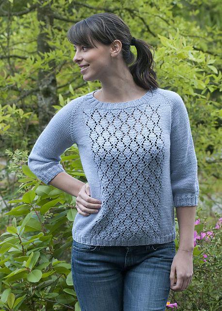 Ravelry: Not Your Boyfriends Sweater pattern by Vera Sanon (free pattern)