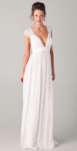 Vestido blanco para boda en playa | Dress | Vestidos de
