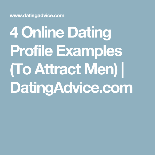 Examples of good womens dating profiles