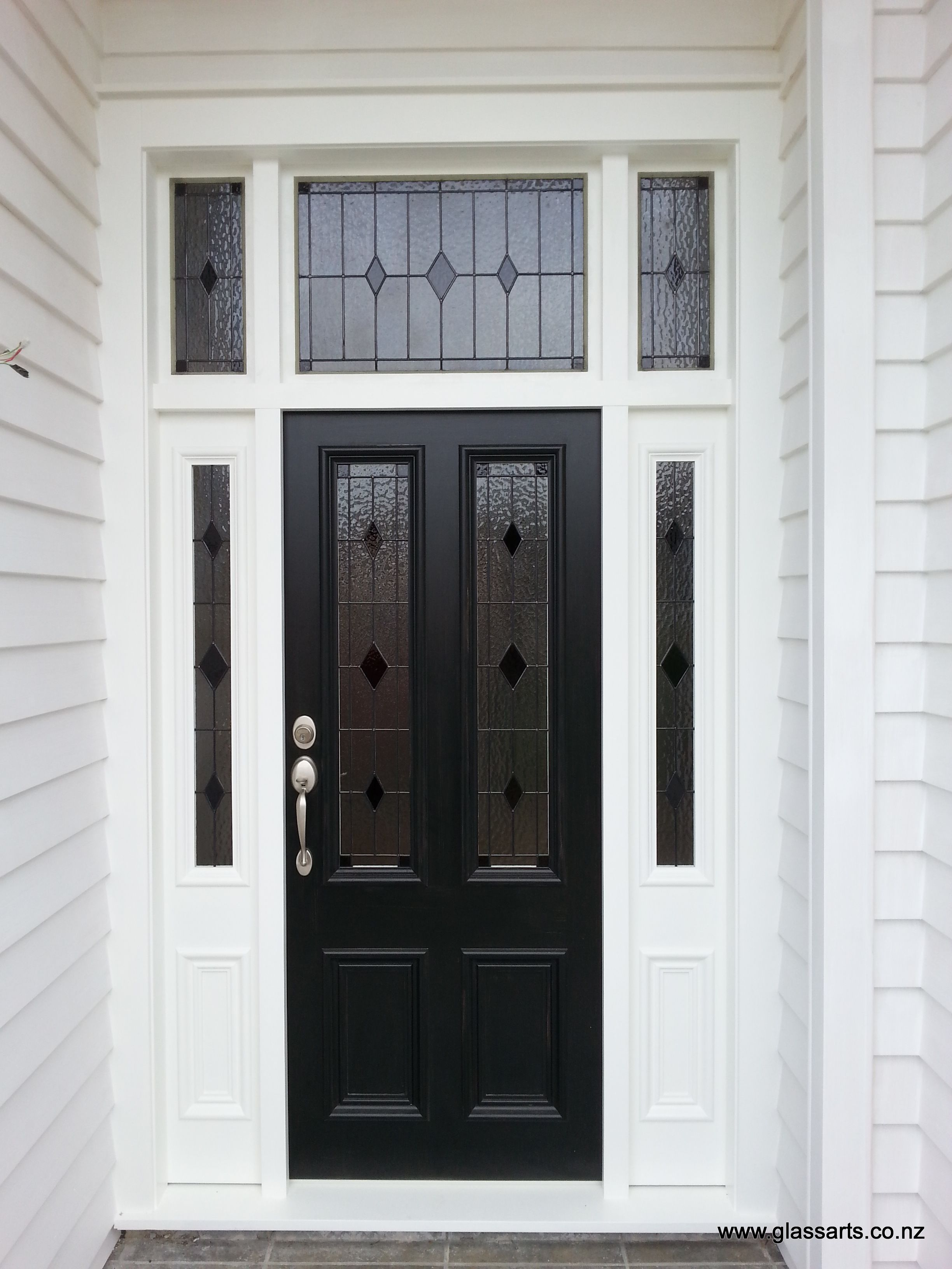 Bespoke stained gl for a Villa Entrance @ Glarts Design ... on